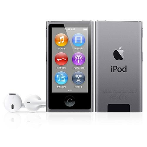 Apple iPod nano 16GB Space Gray (7th Generation) with Engraving