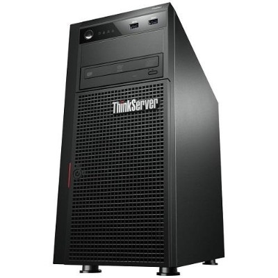 Lenovo TopSeller ThinkServer TS440 70AQ Intel Xeon Quad-Core E3-1225 v3 3.20GHz Tower Server -4GB RAM, no HDD, DVD±RW, Gigabit Ethernet, ...