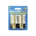 Maxell Gold LR20 - Battery 2 x D alkaline 723020