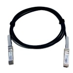 10 Gbps Direct Attached SFP+ Copper Cable - Direct attach cable - SFP+ to SFP+ - 3.3 ft - twinaxial - black - for BigIron RX-32, RX-4; ICX 6430, 6450, 7750; TurboIron 24; VDX 6710, 6720, 6730, 6740