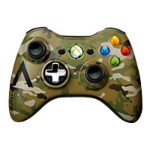 Microsoft Xbox 360 Special Edition Camouflage Wireless Controller - Game pad - wireless - 2.4 GHz - for  Xbox 360 43G-00049
