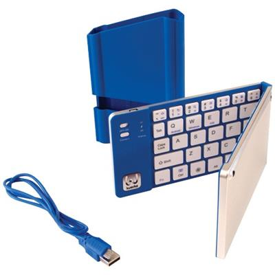 MyWerkz Universal Foldable Bluetooth Keyboard - Blue (44652BL)