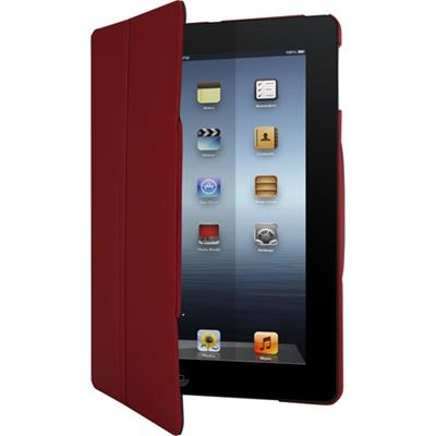 Targus FlipView Case for iPad Air (5th Generation) - Crimson Red (THD03903US)