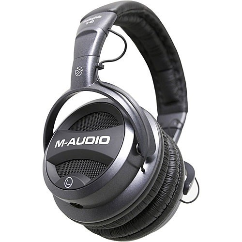 M-Audio STUDIOPHILE Q40 CLOSED-BACK HEADPHONE