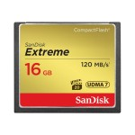 Extreme - Flash memory card - 16 GB - CompactFlash