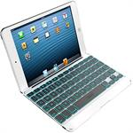 ZAGG ZAGGkeys Folio with Backlit Keyboard  and Case for Apple iPad mini - White ZKMHFWHLIT103