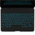 ZAGG ZAGGkeys Cover with Backlit Keyboard for iPad Air - Black ZKFHCBKLIT105