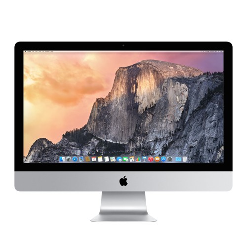 "Apple 27"" iMac Quad-Core Intel Core i7 3.5GHz (4th generation Haswell processor), 8GB RAM, 256GB Flash Storage, NVIDIA GeForce GTX 775M with 2GB of GDDR5 memory, Two Thunderbolt ports, Apple Keyboard with Wireless Keypad and Magic Mouse, Mac OS X Yosemite"