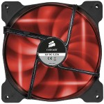 Air Series AF140 LED Purple Quiet Edition High Airflow 140mm Fan - Red