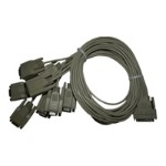 Comtrol Serial cable - 68 pin VHDCI (M) to DB-9 (M) - 3 ft 4000196