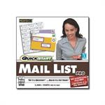 SelectSoft Publishing Quickstart Mail List Pro - License and media - 1 user - CD - Win, Mac LQMAILIPRJ