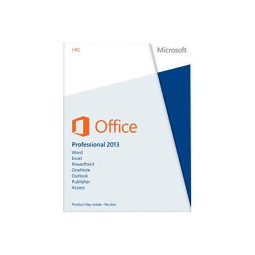 Microsoft Office Professional 2013 - license