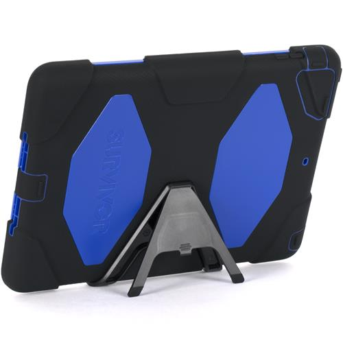 Griffin Survivor for iPad Air - Black/Blue/Black