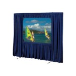 Draper, INC. Cinefold Dress Kit - projection screen dress kit - 150 in ( 381 cm ) 218088