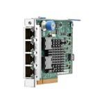 366FLR - Network adapter - PCIe 2.1 x4 - Gigabit Ethernet x 4 - for ProLiant DL20 Gen9, DL360 Gen10, DL380 Gen10, DL385 Gen10, DL580 Gen10, XL450 Gen10