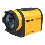 Kodak PIXPRO SP1 - Action camera - mountable - 14.0 MP - 1080p - Wi-Fi - underwater up to 30ft - yellow SP1-YL3