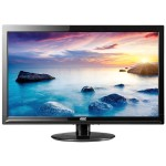 "e2425Swd - LED monitor - 24"" (23.6"" viewable) - 1920 x 1080 Full HD (1080p) - 250 cd/m² - 5 ms - DVI-D, VGA - black"