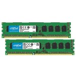 Crucial 16GB Kit (8GBx2) DDR3 1866 MT/s Memory Modules CT2K8G3W186DM