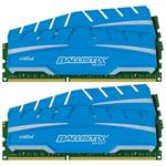 32GB kit (8GBx4), Ballistix 240-pin DIMM, DDR3 PC3-12800 memory module
