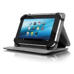Universal Folio Travel - Protective cover for tablet - black