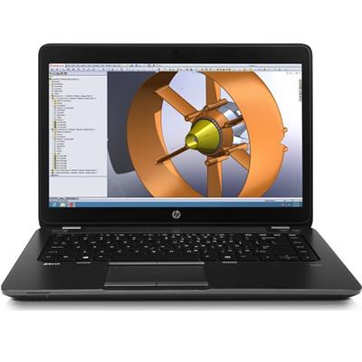 HP Smart Buy ZBook 14 Intel Core i7-4600U Dual-Core 2.10GHz Mobile Workstation - 8GB RAM, 750GB HDD, 14