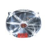 Case fan - 200 mm - clear