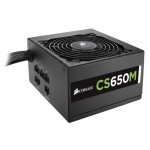 Corsair Memory CS Series CS650M - Power supply ( internal ) - ATX12V 2.4/ EPS12V 2.92 - 80 PLUS Gold - AC 100-240 V - 650 Watt - active PFC - North America CP-9020077-NA