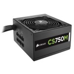 CS Series CS750M - Power supply ( internal ) - ATX12V 2.4/ EPS12V 2.92 - 80 PLUS Gold - AC 100-240 V - 750 Watt - active PFC - North America