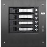 S-35-B4SL - Tower - 1U - mini ITX - hot-swap ( FlexATX ) - black - USB