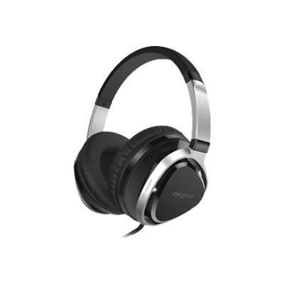 Creative LabsAurvana Live!2 Headset - Over-The-Ear Headset With Detachable Cable And Inline Microphone - Black(51EF0660AA002)