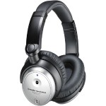 Audio - Technica QuietPoint Active Noise-cancelling Headphones ATH-ANC7B-SVIS