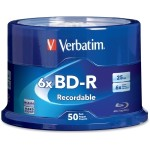 Verbatim 50 x BD-R - 25 GB 6x - spindle 98397