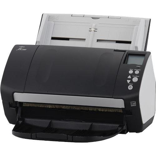 MacMall | Fujitsu Sheetfed Document Scanner fi-7160 - Scan 60 ppm in color  - 80 page automatic document feeder PA03670-B055