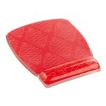 Gel Mouse Pad for Wrist Rest, Designer Series Coral 6.8 in x 8.6 in x .75 in