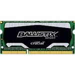 Ballistix - DDR3L - 4 GB - SO-DIMM 204-pin - 1600 MHz / PC3-12800 - CL9 - 1.35 V - unbuffered - non-ECC