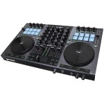 DJ G4V DJ Controller 4 Channel Midi Controller with Soundcard - Great upgrade for any DJ out there that wants to advance their skills inexpensively