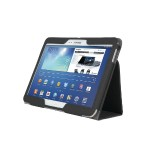 Comercio Soft Folio Case & Stand - Protective case for tablet - olive - for Samsung Galaxy Tab 3 (10.1 in)