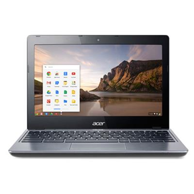 Acer C720-2103 Intel Celeron Dual-Core 2955U 1.40GHz Chromebook - 2GB RAM, 16GB SSD, 11.6