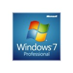 Microsoft Windows 7 Professional w/SP1 - License - 1 PC - OEM - 32/64-bit, medialess - English FQC-08250
