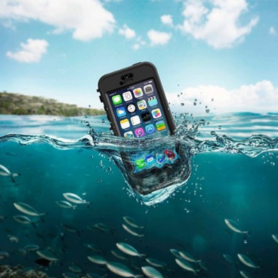 LifeProof Nuud Case for iPhone 5/5S - Black/Smoke (2105-01)