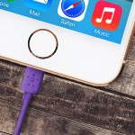 ChargeSync Cable - Lightning cable - Lightning (M) to USB (M) - 4 ft - purple - for Apple iPad/iPhone/iPod (Lightning)