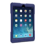 BlackBelt 1st Degree Rugged Case for iPad Air - Plum