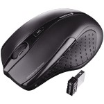 MW 3000 - Mouse - right-handed - infrared - 5 buttons - wireless - 2.4 GHz - USB wireless receiver - black
