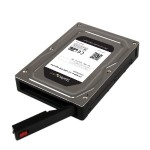 "2.5"" to 3.5"" SATA Aluminum Hard Drive Adapter Enclosure with SSD/HDD Height up to 12.5mm - 2.5"" to 3.5"" HDD Converter"