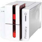 Evolis Evolis Primacy Simplex Expert printer, USB & Ethernet. Fire Red color. Includes 3 year warranty PM1H0000RS