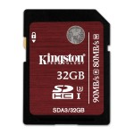 32GB SDHC UHS-I SPEED CLASS 3 FLASH CARD