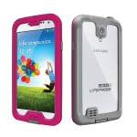 LifeProof Case 1801-03 for Samsung Galaxy S4 (Nuud Series) - Magenta/Gray