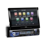 Boss Audio Systems BV 9976B - DVD receiver - display - 7 in - touch screen - in-dash unit - Full-DIN - 85 Watts x 4 BV9976B