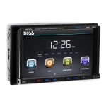 Boss Audio Systems BV 9757B - DVD receiver - display - 7 in - touch screen - in-dash unit - Double-DIN - 85 Watts x 4 BV9757B