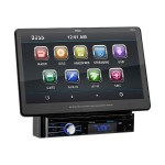 BV BVS13.3B - DVD player / LCD monitor - display - 13.5 in - touch screen - in-dash unit - Full-DIN - 85 Watts x 4